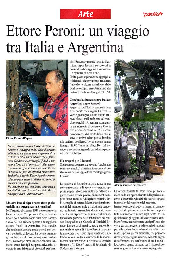 Peroni Ettore Scultore