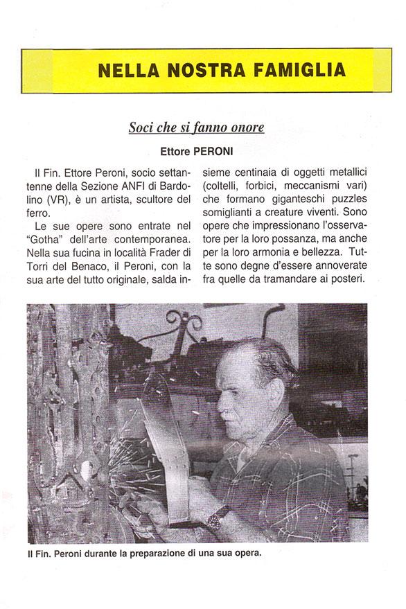 Peroni Ettore Scultore Stampa